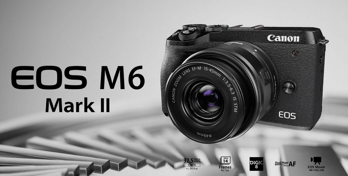 Kamera Mirrorless Canon EOS M6 II