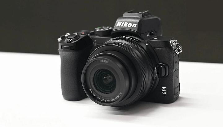 Kamera Mirrorless Nikon Z50